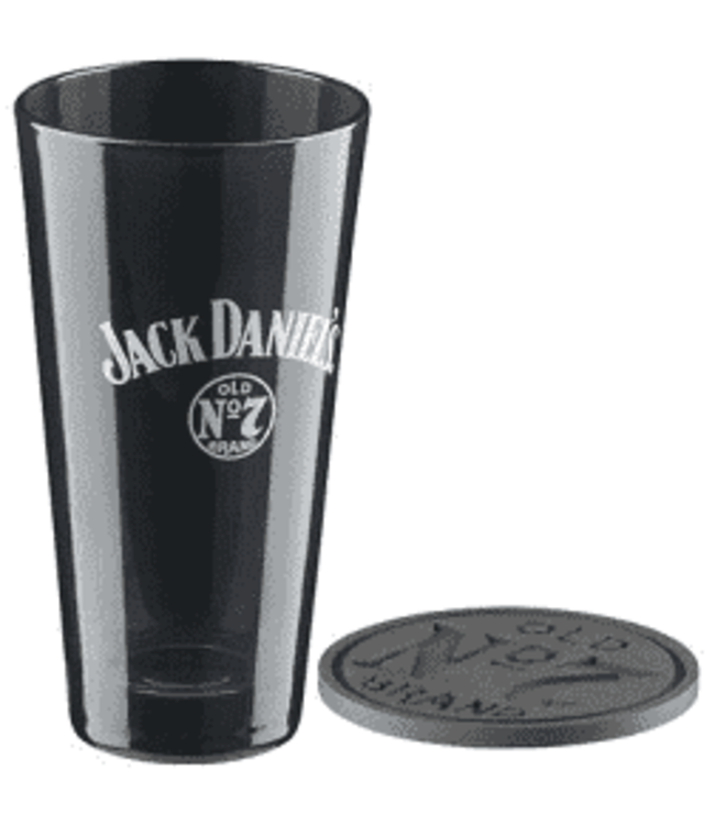 JD TALL GLASS GIFT SET Jack Daniels