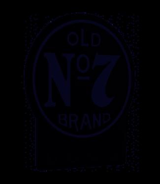 JD Old No. 7 Key Rack Jack Daniels