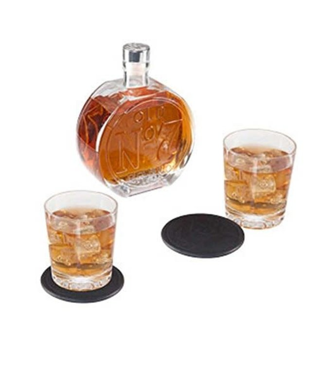 JD OLD NO. 7 DECANTER SET Jack Daniels