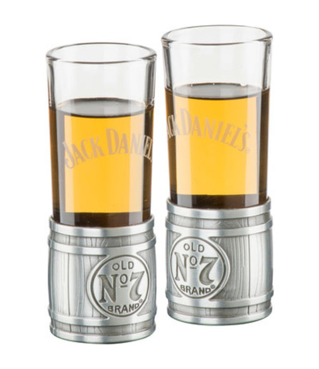 JD Jack Daniels Metal Barrel Shooter Set