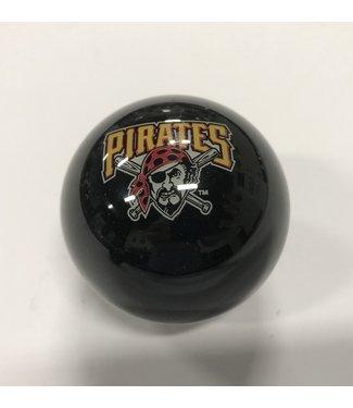 Imperial USA Pittsburg Pirates Billiard Cue or 8 Ball - Black