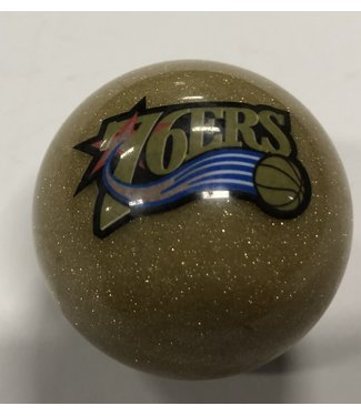 Imperial USA 76ers Gold Billiard Cue Ball or 8 Ball
