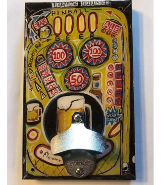 Pinball Wall Mounted Bottle Opener