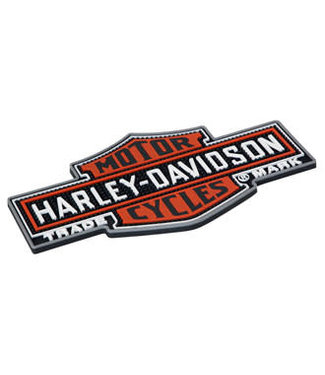 HARLEY DAVIDSON Harley Davidson Nostalgic Bar and Shield Beverage Matt Bar Rail