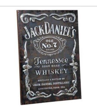 Jack Daniel's Label Wall Art