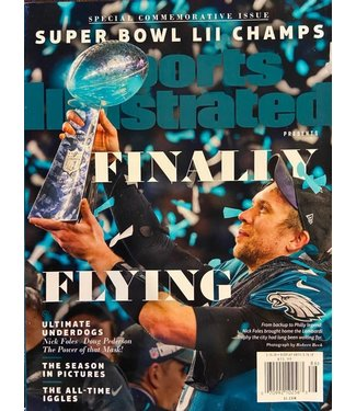 Philadelphia Eagles SBLII Champs Sports Illustrated Magazine Foles