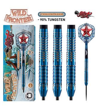 """SHOT Wild Frontier """"Trailblazer"""" Steel Tip Dart Set 22g"""