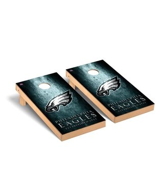 Victory Tailgate Philadelphia Eagles NFL Football Regulation Cornhole Game Set Museum Version