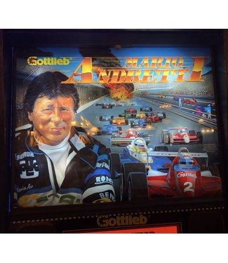 Mario Andretti Pinball Table