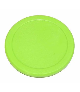 "Valley Dynamo 2 1/2"" Fluorescent Green Air Hockey Puck by Valley Dynamo Pucks"