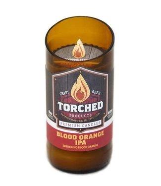Torched Blood Orange IPA  Beer Candle 8oz