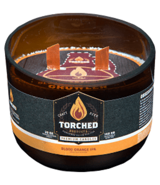 Torched Growler Candle - Blood Orange 28oz