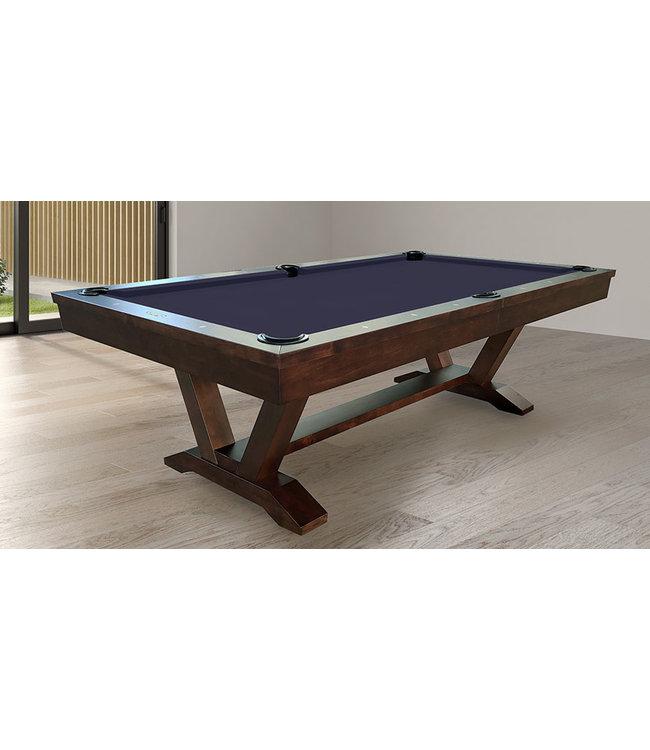 C.L. Bailey Skylar Pool Table - Warm Chestnut