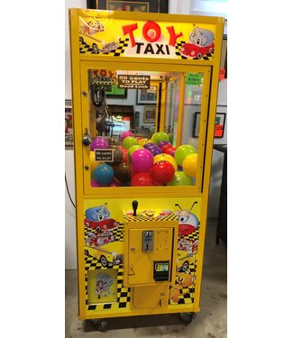 Toy Taxi Arcade Claw Machine Game - Used