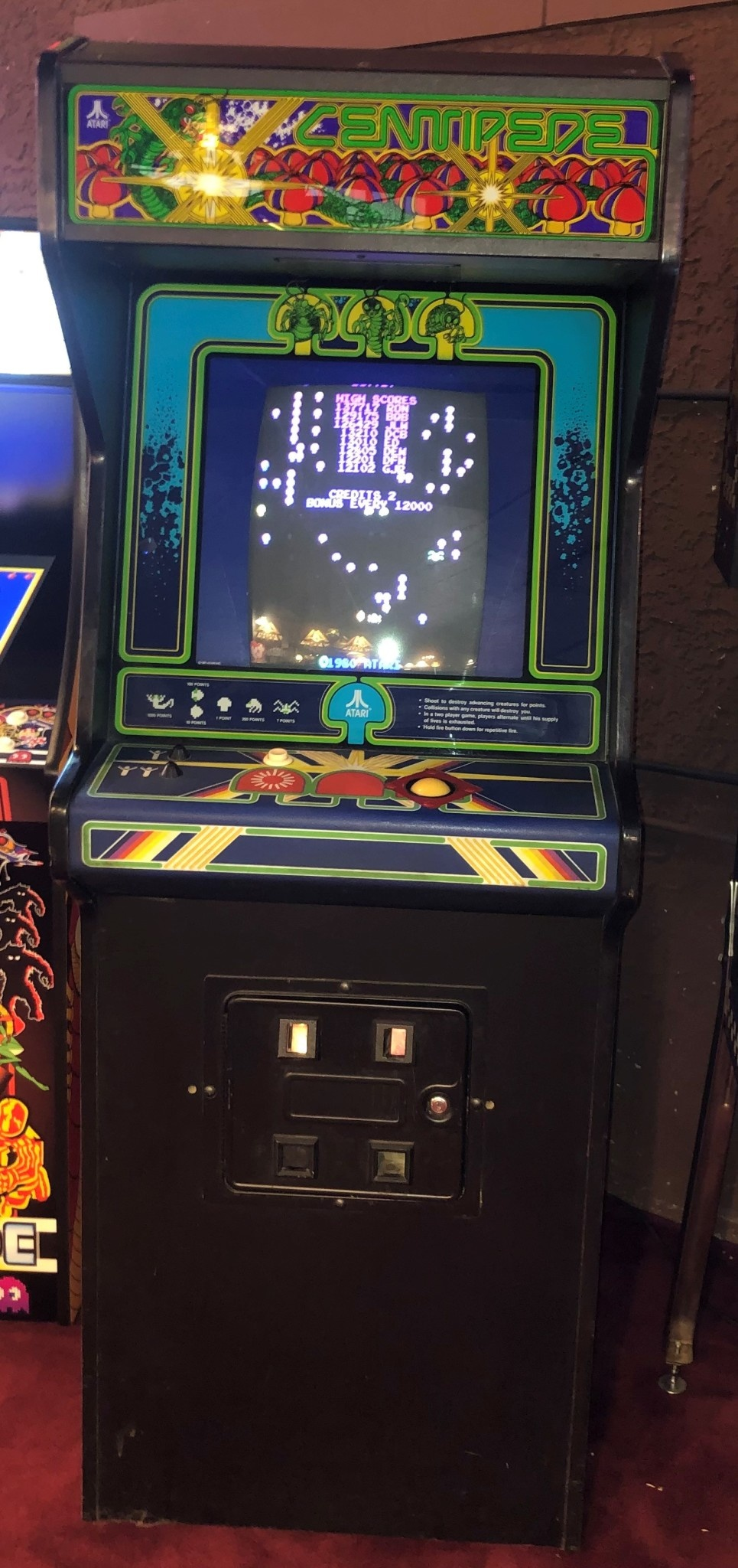 Centipede Arcade Machine Game Rr Games