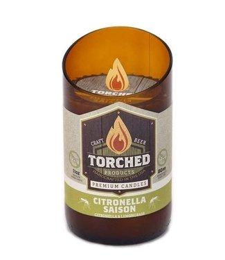 Torched Bomber Candle - Citronella Saison 11oz