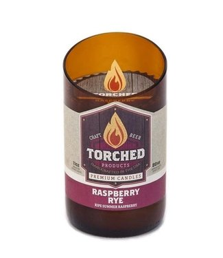 Torched Bomber Candle - Raspberry Rye 11oz