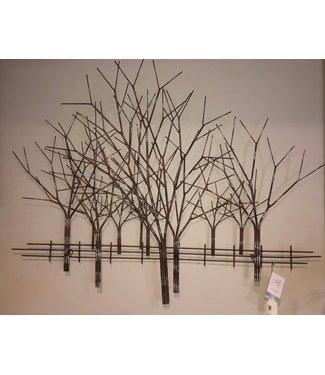 Artisan House Tree Metal Artisan House New England Winter Art
