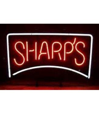 Sharps Neon Sign