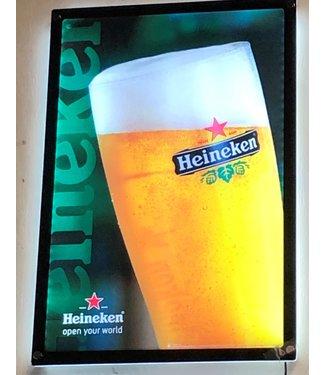 Heineken Lighted Sign Picture