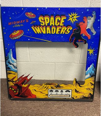 Space Invaders Original Arcade Glass