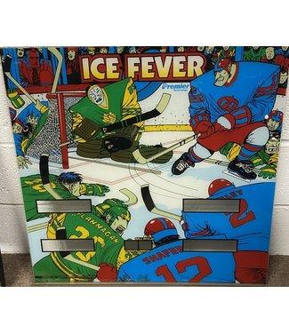 Premier Ice Fever Pinball Back Glass