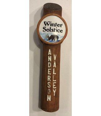 Beer Tap Handle - Anderson Valley Winter Solstice