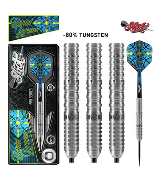 SHOT Shot Pro Series Daniel Larson Steel Tip Dart Set - 80% Tungsten 24gm