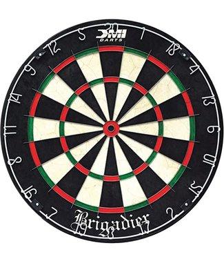 DMI DMI Sports Brigadier Regulation-Size Staple-Free Bristle Dartboard with Staple-Free Wiring System and Bullseye