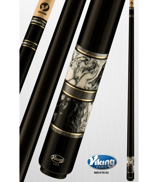 Viking Viking B3301 Venetian Marble & Smoke Premium Cue Stick 12.75mm
