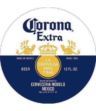 CORONA MS406 15 INCH Circle CORONA Extra Beer Tin Sign