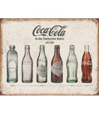 COCA COLA TN531 Coca Cola Soda Bottle Tin Sign