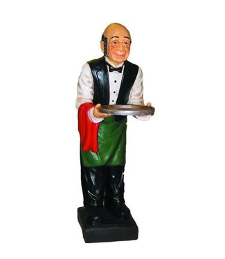 """Garcon 42"""" Waiter with Tray"""
