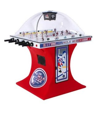 Super Chexx Miracle on Ice Edition Super Chexx Pro with Red Base and Cup Holders