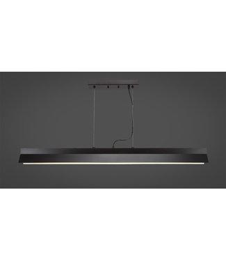 Toltec Lighting 4048-ES Ridgemont Bar Shown In Espresso Finish With Integrated LED Lighting Billiard Bar Light