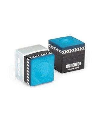 McDermott Navigator Premium Billard Chalk Blue