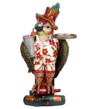"""37"""" Parrot Waiter with Tray R952"""