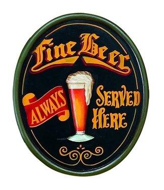 R447 Fine Beer Wooden Sign