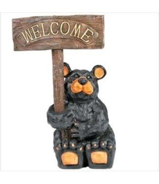 Bear Waiter Outdoor Statue Odr214