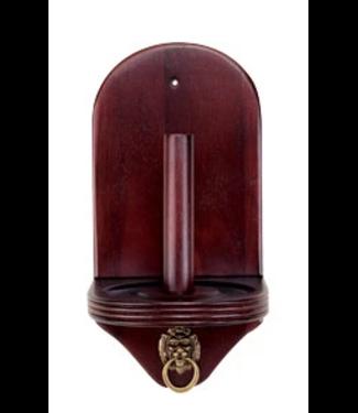 Talc Chalk Holder w/ Lion Ring- Wine CCLN