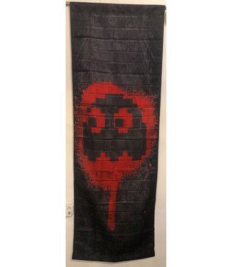 NAMCO RED GHOST - BLINKY PAC-MAN TAPESTRY 2FT X 6FT