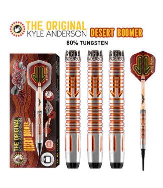 SHOT Kyle Anderson Desert Boomer Soft Tip Dart Set 80% Tungsten 18gm