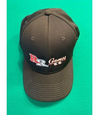 Under Armour RR GAMES Black Under Armour Stretch Baseball Cap Hat Large L
