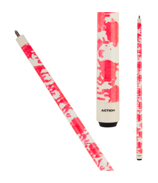 Action Action Value VAL36 Pink & White Cue Stick