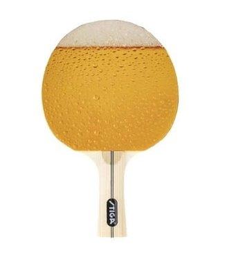 Stiga Image Ping Pong Paddle - Beer