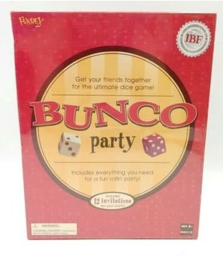 Bunco Party - Family/Group Dice Game - Fundex Games BUNCO Official Party Game by FUNDEX -ULTIMATE DICE GAME