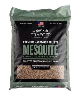 Traeger Wood Fire Grill Mesquite BBQ Wood Pellets