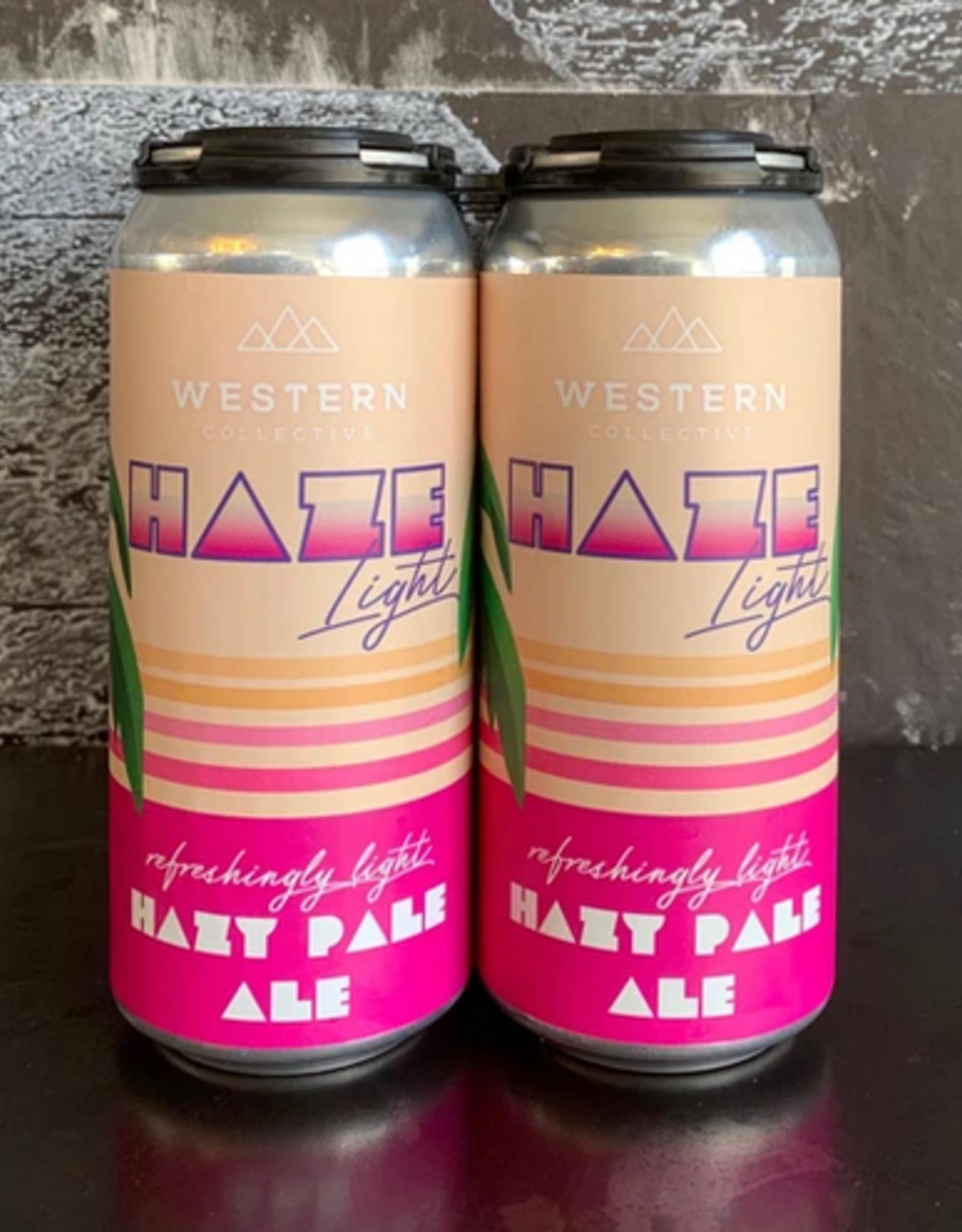 Hazy Pale Ale Western Collective Haze Light 6pk cans single