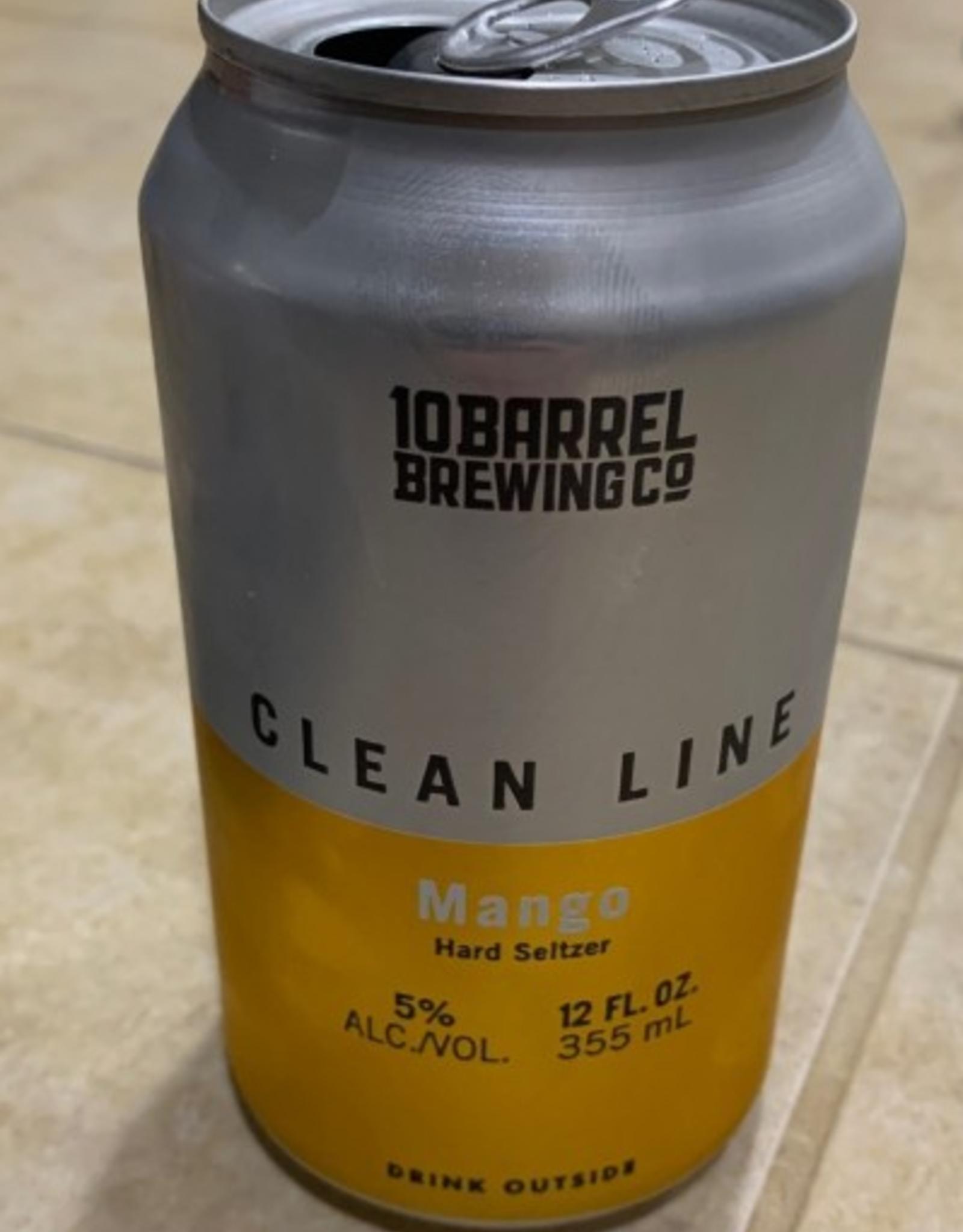 10 Barrel Clean Line Hard Seltzer 6pk cans single