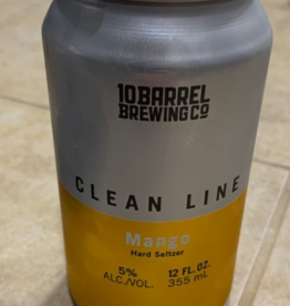 10 Barrel Clean Line Hard Seltzer 6pk cans single